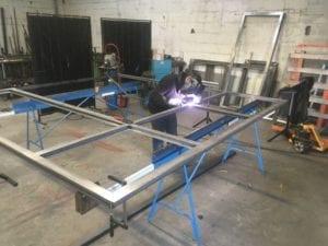 Menuiserie en acier RP technick gamme standard